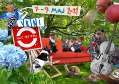 Vrtni kavč festival prebuja kulturno sceno v Sloveniji