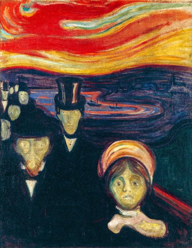 Anxiety, Edvard Munch,1894 (foto: profimedia)