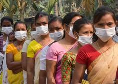 V Indiji se epidemija ne umirja, v zadnjem dnevu potrdili največ okužb doslej