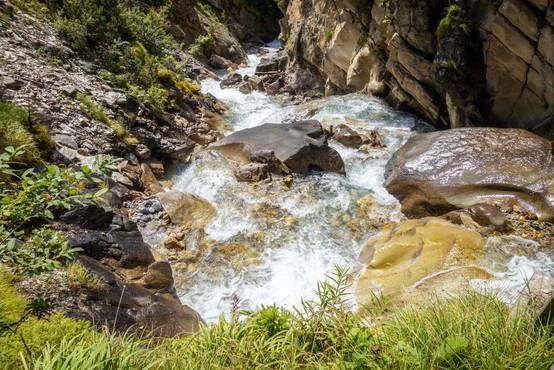 Zaradi obilnejšega dežja se bo vodnatost rek še naprej povečevala