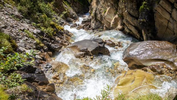 Zaradi obilnejšega dežja se bo vodnatost rek še naprej povečevala (foto: profimedia)