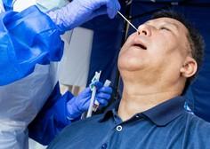 Med 4029 četrtkovimi testi potrdili 606 pozitivnih brisov, umrli trije bolniki