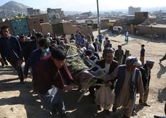 Število žrtev eksplozije pred dekliško šolo v Kabulu se je povzpelo na 50