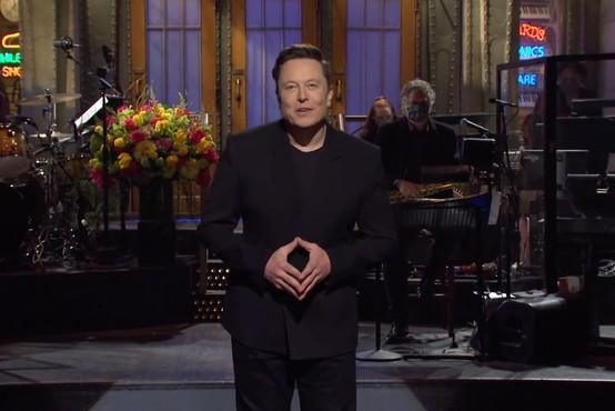 Elon Musk (na Saturday Night Live) razkril, da ima Aspergerjev sindrom