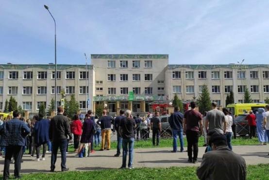 V streljanju na šoli v ruskem Kazanu ubitih več ljudi