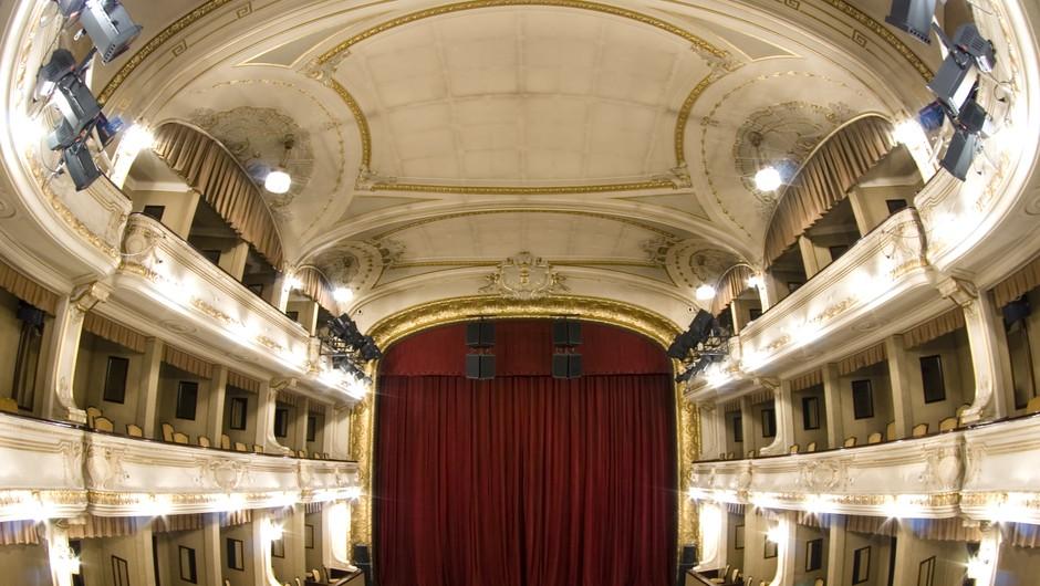 Prvo predstavo v ljubljanski Drami po dolgem času bodo lahko spremljali trije gledalci (foto: Shutterstock)