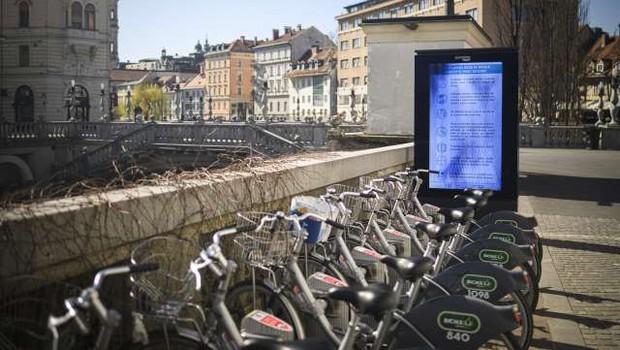 V 10 letih Biciklja podvojili število postajališč in koles (foto: Jure Makovec/STA)