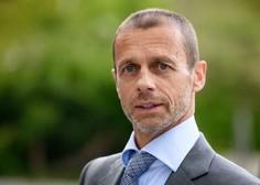 Čeferin: Evropski model je edina možnost za preživetje športa