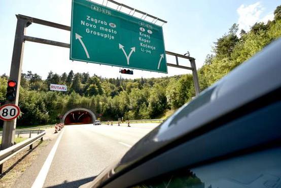 Vzhodna cev predora Golovec zaradi testiranj zaprta še do 23. maja