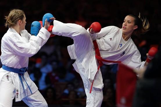 """Karateistka Tjaša Ristič: """"Tudi če se tepem, sem še vseeno ženska."""""""