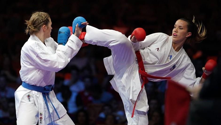 """Karateistka Tjaša Ristič: """"Tudi če se tepem, sem še vseeno ženska."""" (foto: osebni arhiv)"""