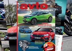 Izšel je novi Avto magazin: šestvaljniki se vračajo!