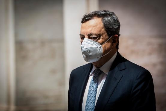 Italijanski premier Draghi se je odrekel plači, živi od visokih pokojnin