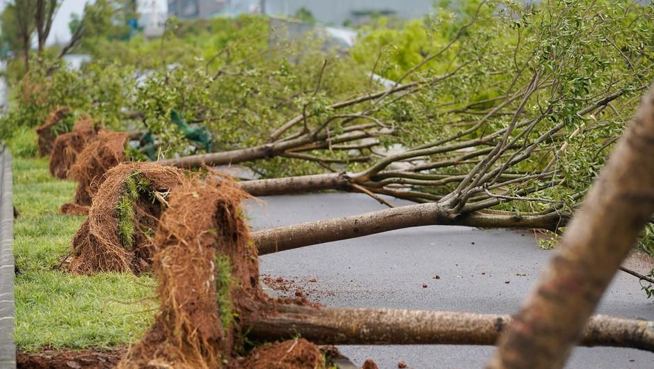 Tornada na Kitajskem vzela 12 življenj in povzročila veliko materialne škode (foto: profimedia)