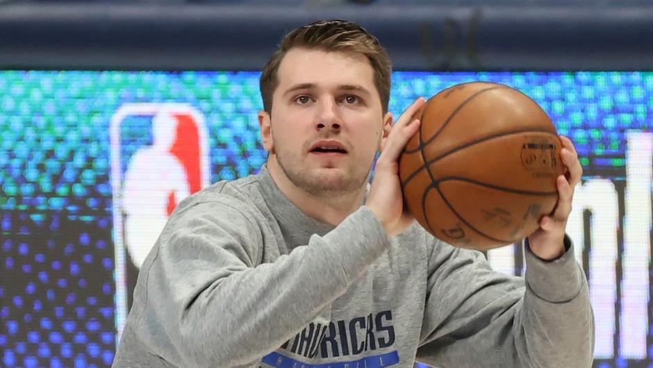 Po uspehih slovenskega košarkarja v ligi NBA se je v ZDA skokovito razširilo ime Luka (foto: profimedia)