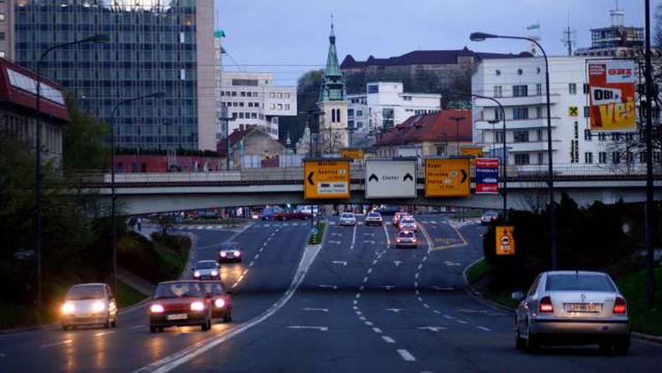 Epidemija poskrbela za zmanjšanje škodljivega dušikovega dioksida v ljubljanskem zraku (foto: Daniel Novakovič/STA)