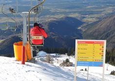 Zaradi novega snega na Krvavcu ponovno zagnali naprave, za vikend bo smuka mogoča tudi na Kaninu