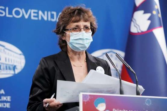 Čakš Jagrova: Epidemiologi s sledenjem stikov niso nikoli povsem prenehali
