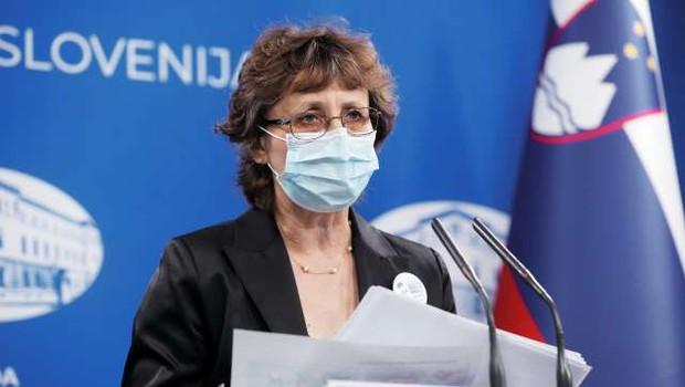 Čakš Jagrova: Epidemiologi s sledenjem stikov niso nikoli povsem prenehali (foto: Daniel Novakovič/STA)