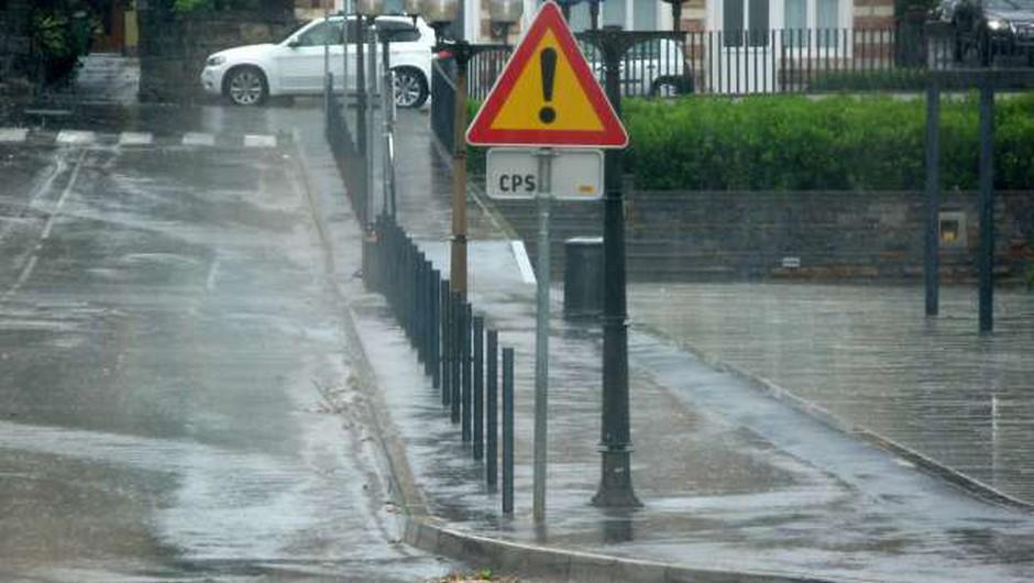 Zaradi obilnih padavin vodnatost rek povečini že velika (foto: Lena Dujc/STA)