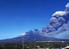 V Italiji v enem dnevu izbruhnila dva ognjenika