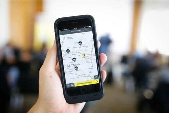 V Slovenijo se je vrnila mobilna aplikacija Hopin Taxi