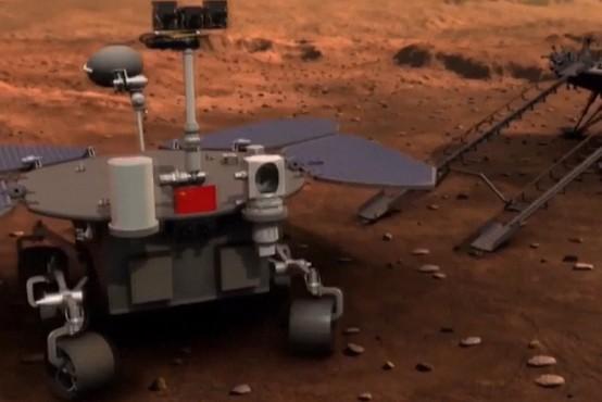 Kitajski rover je že začel svojo raziskovalno pot po Marsu