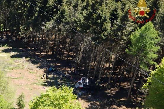 Po tragediji na žičnici pri jezeru Maggiore tri aretacije