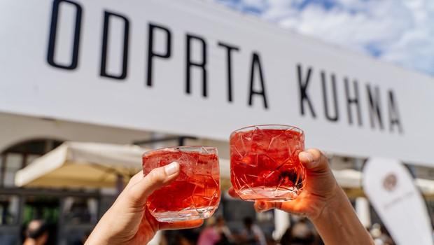 Odprta kuhna v Ljubljani se vrača vsak sončni petek med 10. in 22. uro (foto: Odprta kuhna)