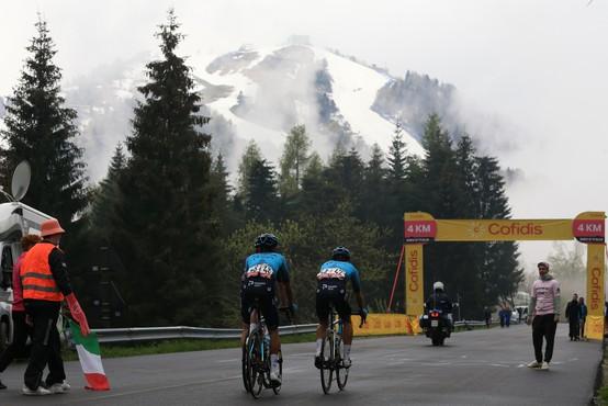 Trasa petkove 19. etape Gira spremenjena