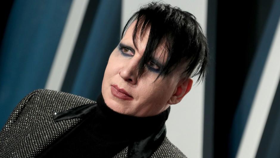 Policija zaradi domnevnega napada izdala nalog za aretacijo Marilyna Mansona (foto: Profimedia)