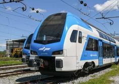 V Slovenijo pripeljal prvi od desetih dvopodnih vlakov