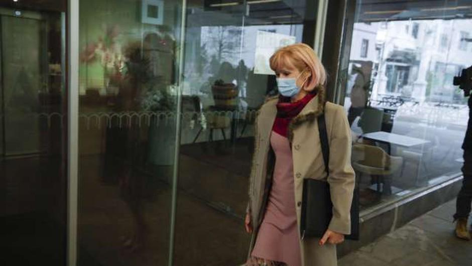Lilijana Kozlovič odstopa z mesta ministrice za pravosodje (foto: Anže Malovrh/STA)