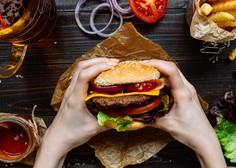 Svetovni dan hamburgerja: V Sloveniji je najbolj priljubljen hamburger s sirom