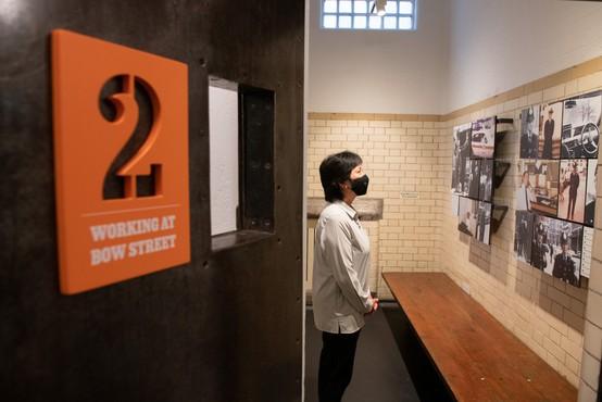 Stare zaporne celice na londonski policijski postaji spremenili v muzej