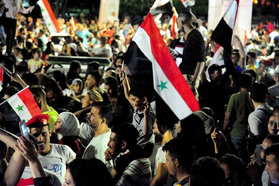 Na slavju po vnovični izvolitvi predsednika Bašarja al Asada umrli najmanj dve osebi