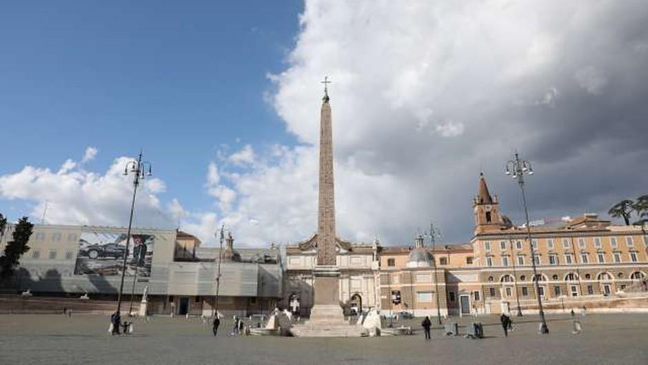 Tri italijanske dežele postale bela območja (foto: Xinhua/STA)