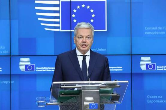 Reynders glede tožilcev pozval Slovenijo, naj izpolni obveznosti