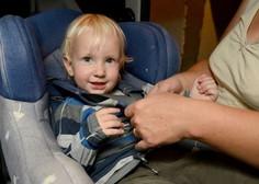 Test AMZS pet od 29 otroških sedežev ocenil kot neprimerne