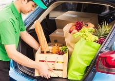 Nakupovanje živil po spletu preprosto, a ponudba in dostava omejeni