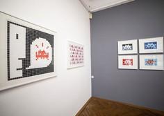 Invader: Grafike na papirju in gostovanje Računalniškega muzeja v MGLC