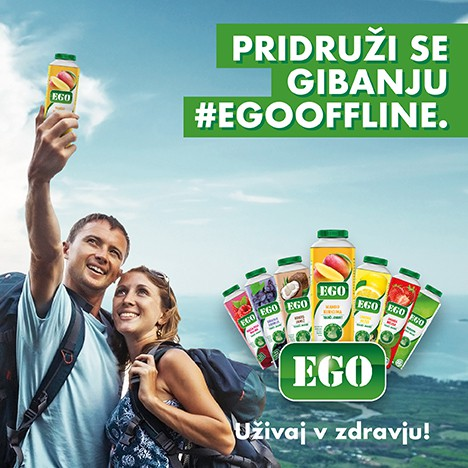 Z gibanjem #egooffline proti prekomerni rabi interneta (foto: PROMO EGO)