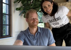 Princ Harry in njegova žena Meghan sta danes sporočila, da se jima je rodila še hči