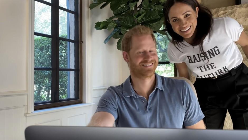 Princ Harry in njegova žena Meghan sta danes sporočila, da se jima je rodila še hči (foto: profimedia)