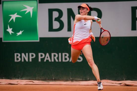 Teniška igralka Tamara Zidanšek po Mimi Jaušovec druga Slovenka v četrtfinalu turnirja velike četverice