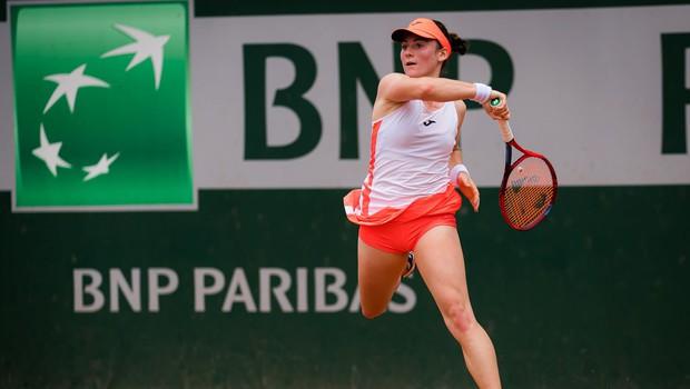 Teniška igralka Tamara Zidanšek po Mimi Jaušovec druga Slovenka v četrtfinalu turnirja velike četverice (foto: profimedia)
