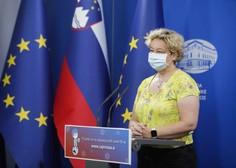 Logarjeva: Sprostitev vseh ukrepov bo možna, ko bo Slovenija v zeleni fazi po evropskem semaforju