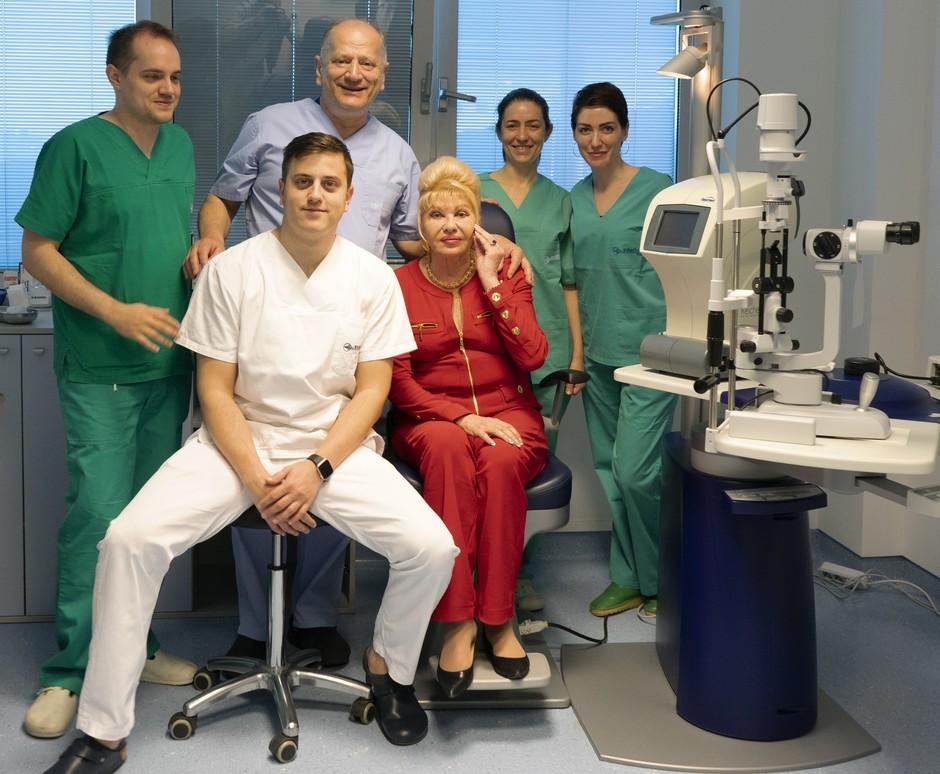 To je razlog, zakaj Kliniki Svjetlost zaupajo tudi svetovni zvezdniki (foto: Klinika Svjetlost)