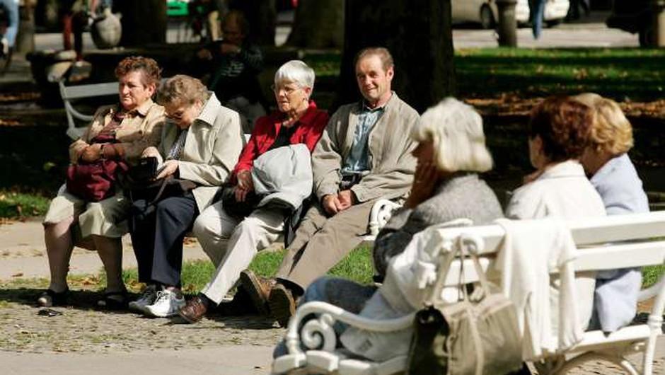 V Sloveniji dosegamo vse bolj častitljivo starost (foto: Daniel Novakovic/STA)