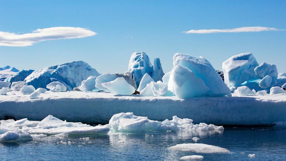 Po novem poimenovanju se je štirim oceanom pridružil še peti - Južni ocean (foto: profimedia)